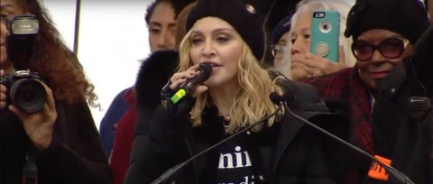Watch Madonna's Powerful Speech at Women's March on Washington