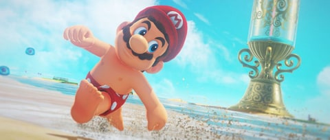 Daily Glixel: Can You Beat 'Super Mario Odyssey' Without Jumping?