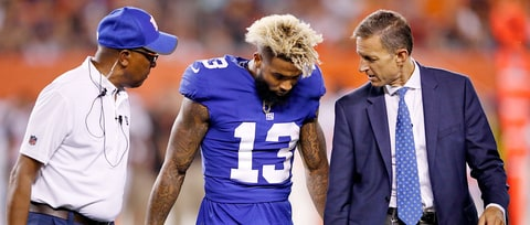 New York Giants' Odell Beckham Jr.: What We Know About Ankle Injury