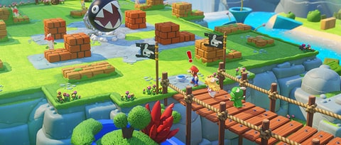 Mario's Delightful Latest Features Gunplay, Tactics, an Infusion of Raving Rabbids