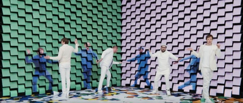 Watch OK Go's Innovative 'Obsession' Video, Made With Wall of Printers