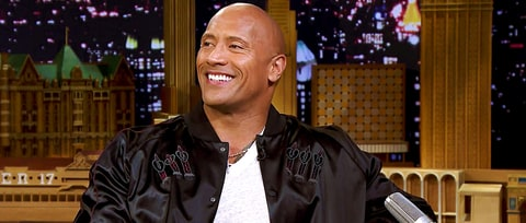 Watch Dwayne 'The Rock' Johnson Talk Presidential Aspirations on 'Tonight Show'