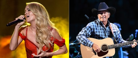 Carrie Underwood, George Strait to Receive Home State Honors
