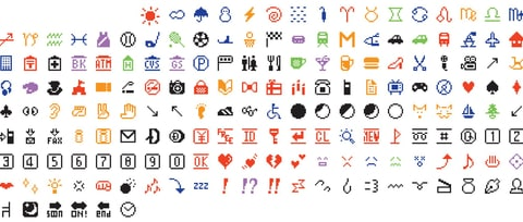 Museum of Modern Art Acquires Original Emoji Set