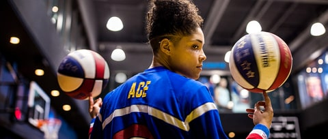 Ace Jackson and the Revolutionary Women of the Harlem Globetrotters