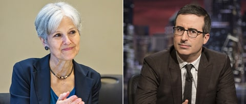 Green Party Candidate Jill Stein Rips John Oliver's 'Deceptive Attack'