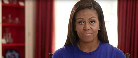 Watch Michelle Obama Urge Voters for 'President Our Kids Can Look Up To'