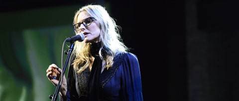 Watch Aimee Mann Perform Silky 'Goose Snow Cone' on 'Colbert'