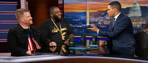 Watch Run the Jewels Talk Bernie Sanders, Grammy Snub on 'Daily Show'