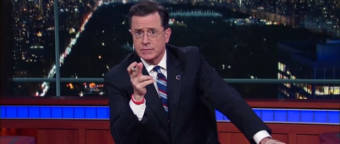 Watch Stephen Colbert Revive 'Report' Character For Obama Farewell