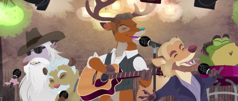 Watch Blake Shelton Get Animated in 'Doing It to Country Songs' Video