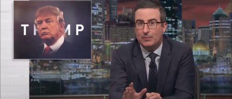 Watch John Oliver Blast GOP Lawmakers for Failing to Criticize Trump