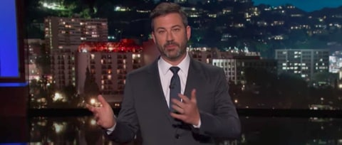 Watch Jimmy Kimmel Slam Trump For Backing Graham-Cassidy Healthcare Bill