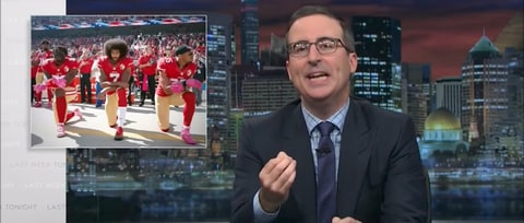 Watch John Oliver Blast President Trump for Controversial NFL Speech