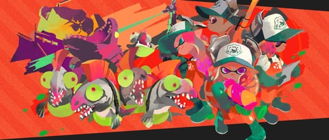 'Splatoon 2' Makers on Esports and Why the New Salmon Run Co-Op Mode is so Hard