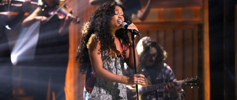 Watch SZA Perform String-Backed 'Supermodel' on 'Fallon'
