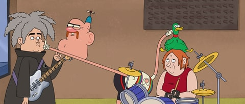 See Melvins' Buzz Osborne, Dale Crover as Animated Characters in 'Uncle Grandpa'