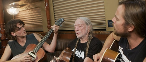Watch Willie Nelson and His Sons Detail Unbreakable Family Bond on Tour Bus