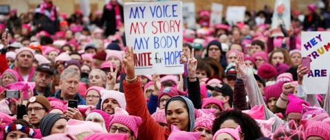 Women Showed Tremendous Courage in 2017 – Will It Make a Lasting Difference?