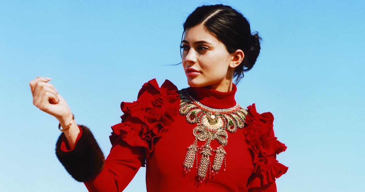 Kylie Jenner Models In Vogue S September Issue Photo Us