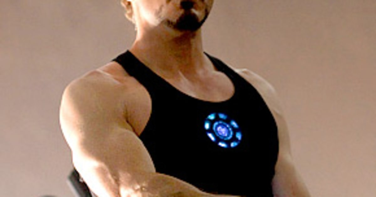Robert Downey Jr Gained 20 Pounds Of Muscle For Iron Man