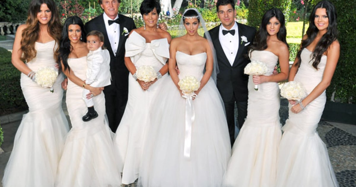 kardashian klan kim kardashians wedding album us weekly