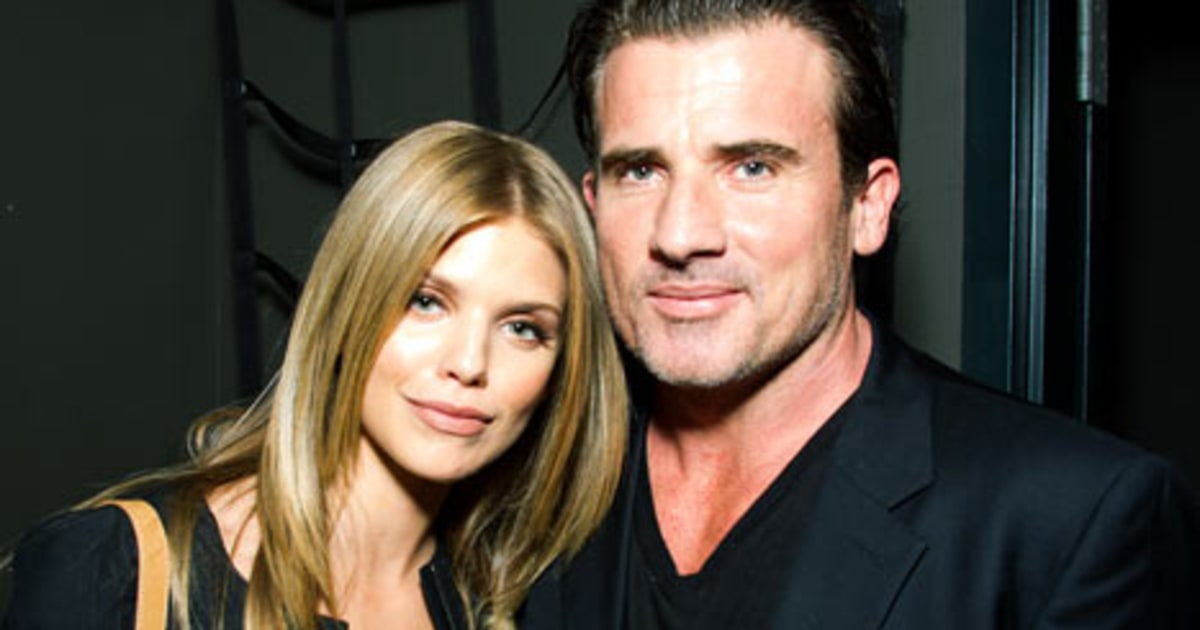 "Dominic Purcell, 41, Praises ""Intelligent"" Girlfriend ... Dominic Purcell And Annalynne Mccord"