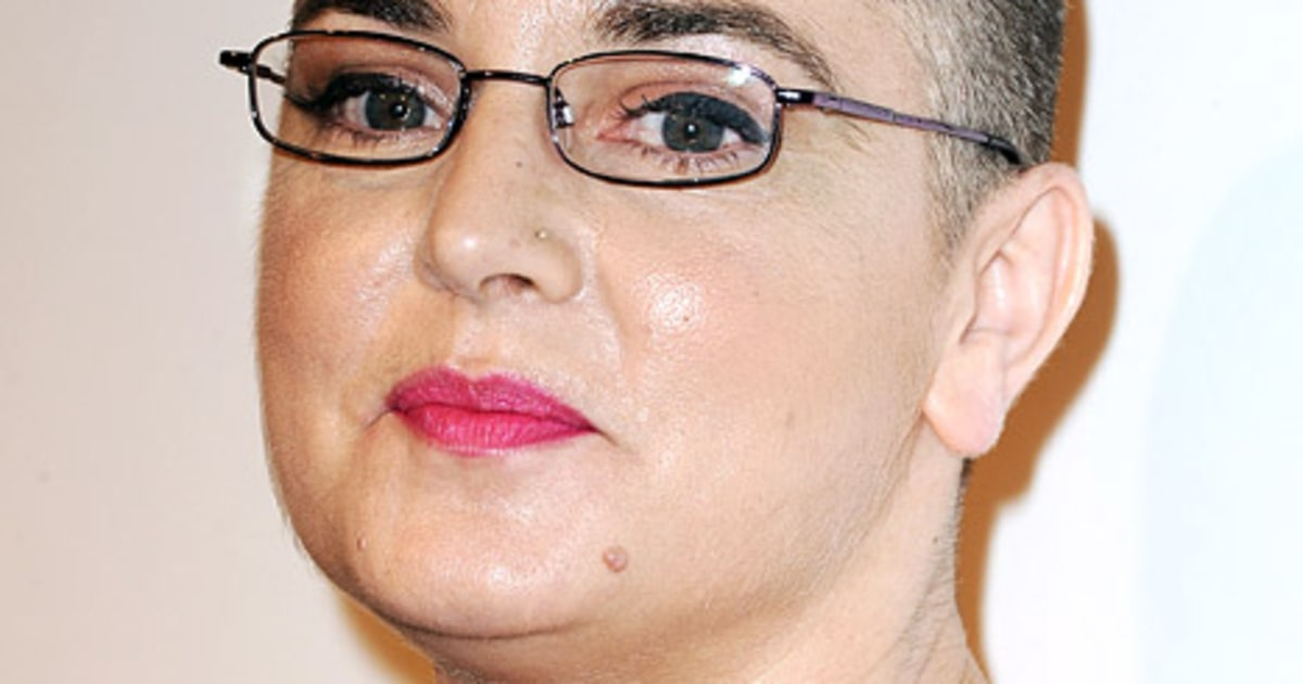 PIC: Sinead O'Connor Goes Back to Bald