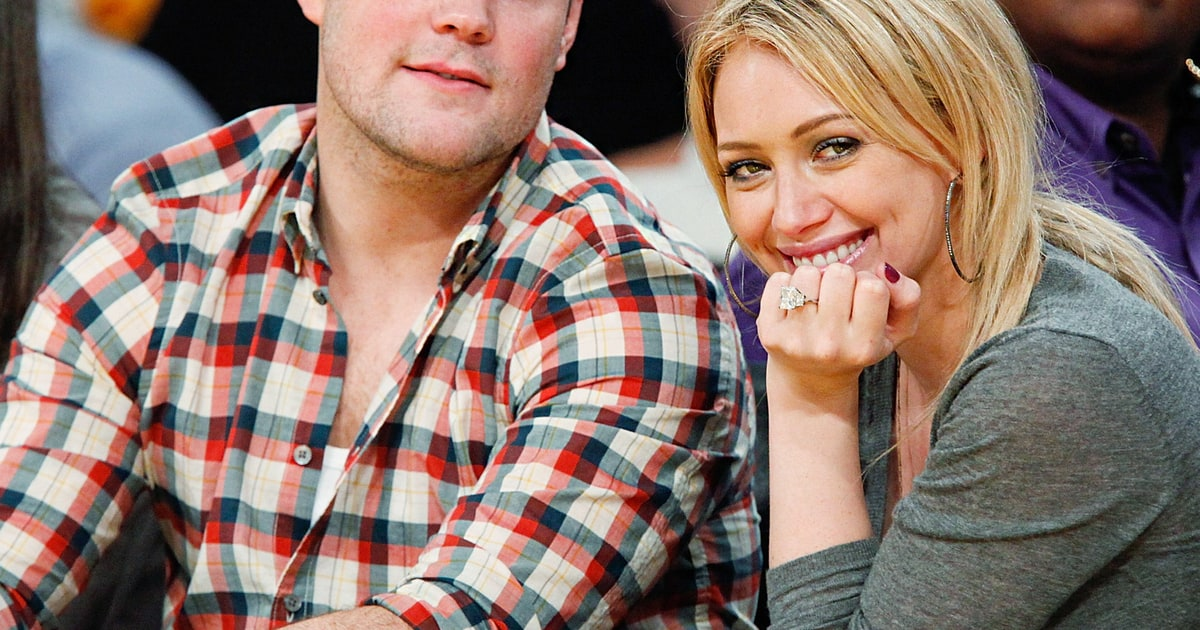 Hilary Duff Best Celebrity Engagement Rings Of All Time Us Weekly