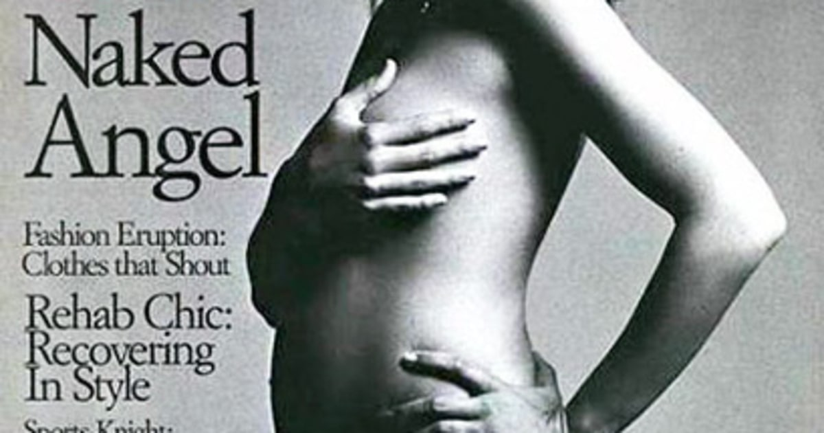 Cindy Crawford Nude Pregnant 32