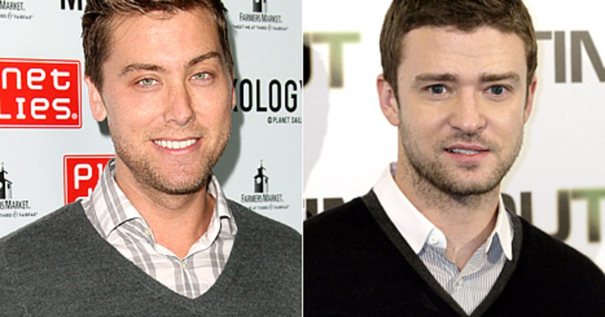 Lance Bass Reveals What He's Giving Justin Timberlake at ...