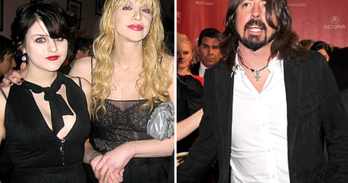 Frances Bean Cobain Dave Grohl Never Hit On Me Us Weekly