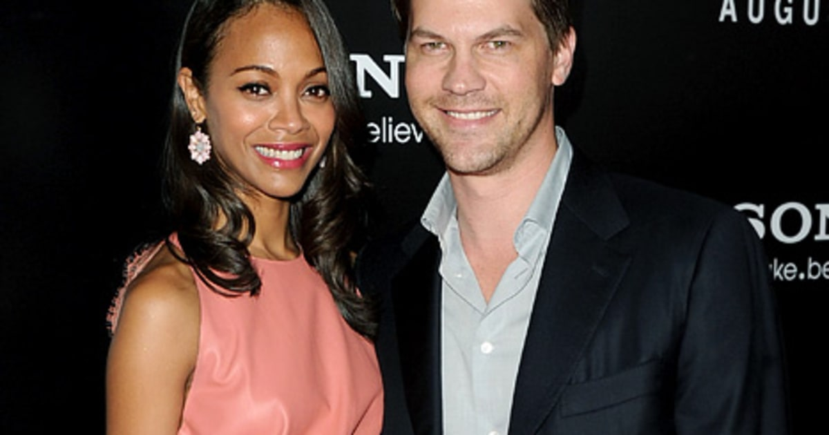 Zoe Saldana I Wanted Kids With Ex Fiance Keith Britton
