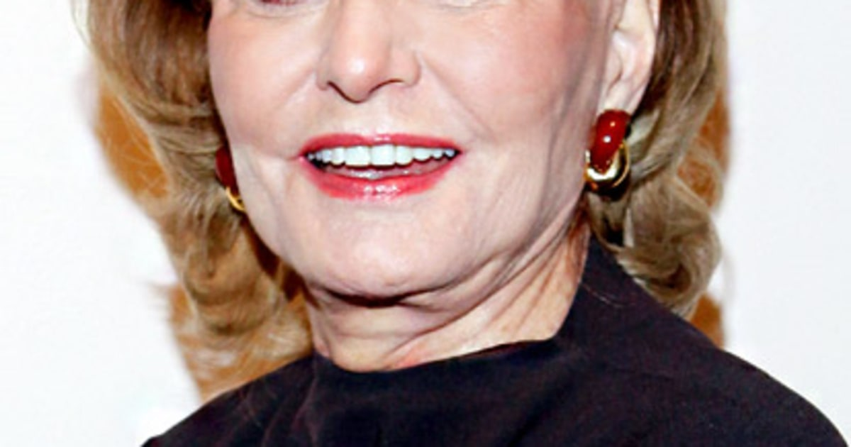 Barbara Walters How Stars Are Spending Their Summer Vacation Us ...
