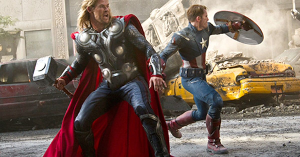 The Avengers 2003 Million Debut Smashes Weekend Box