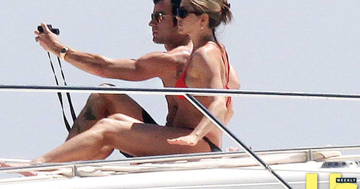 Photo op jennifer aniston and justin theroux s sexy vacation album