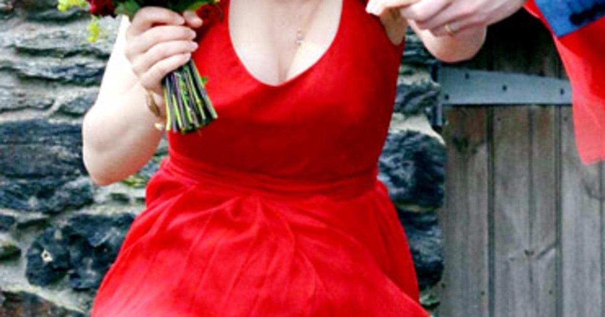 Rachel Mcadams About Time Red Dress