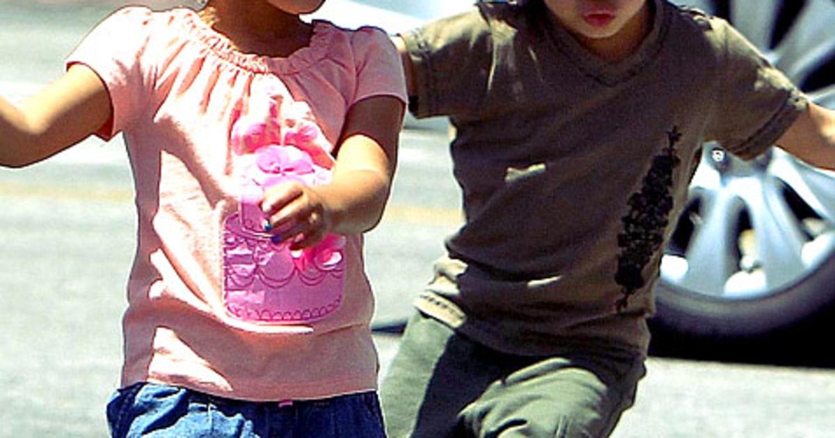 Max and Emme Anthony | Hollywood's Trendiest Kids | Us Weekly Ben Affleck Divorce