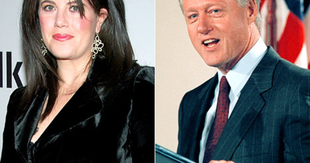 Are monica lewinsky and bill clinton