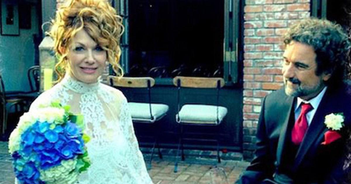 Nancy Wilson And Geoff Bywater Celebrity Weddings 2012
