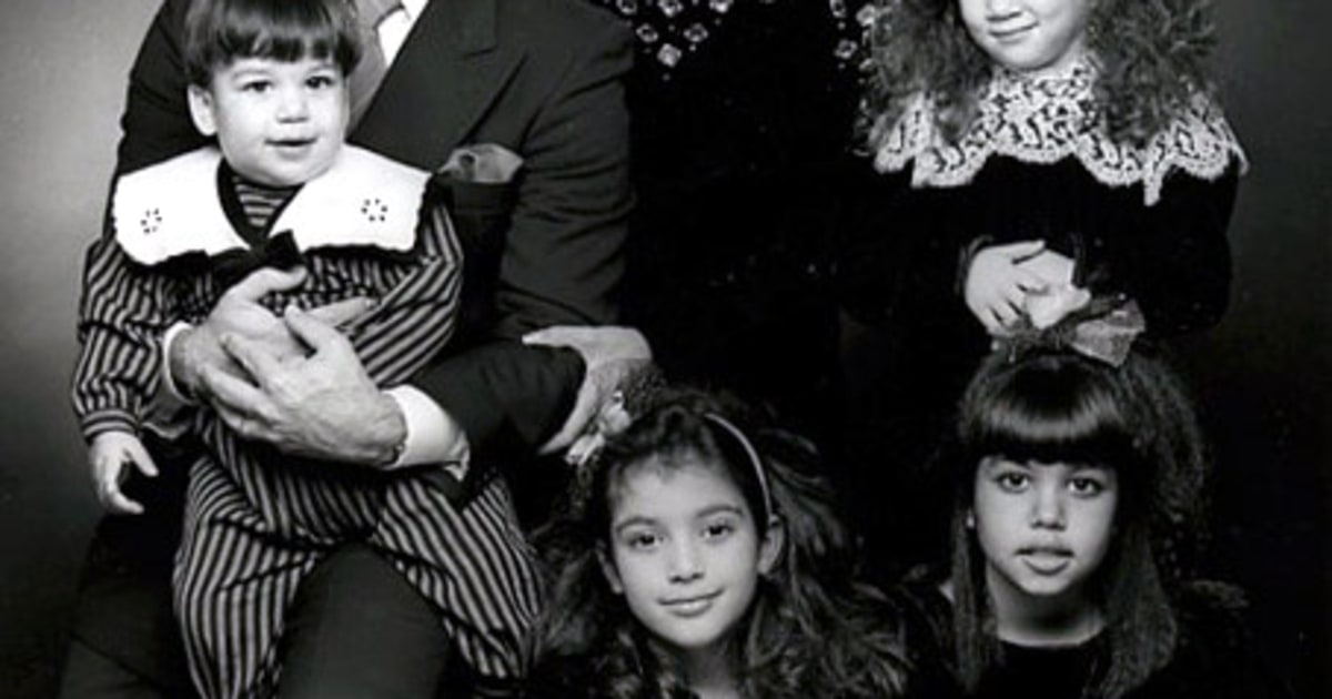 Kardashian Family Christmas Cards Through The Years