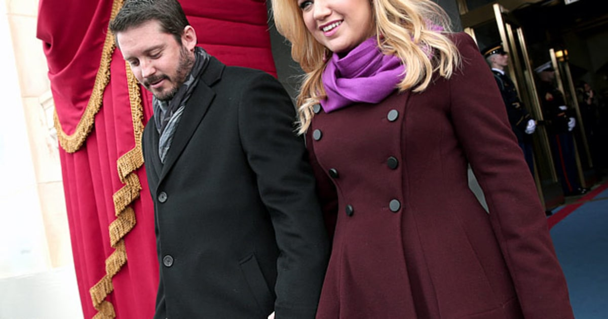 Brandon Blackstock And Kelly Clarkson Presidential