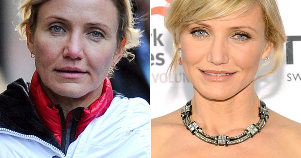 Cameron diaz natural beauty stars without makeup us weekly