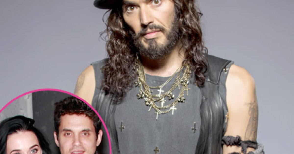 Russell brand katy perry s new boyfriend john mayer is a quot worse or