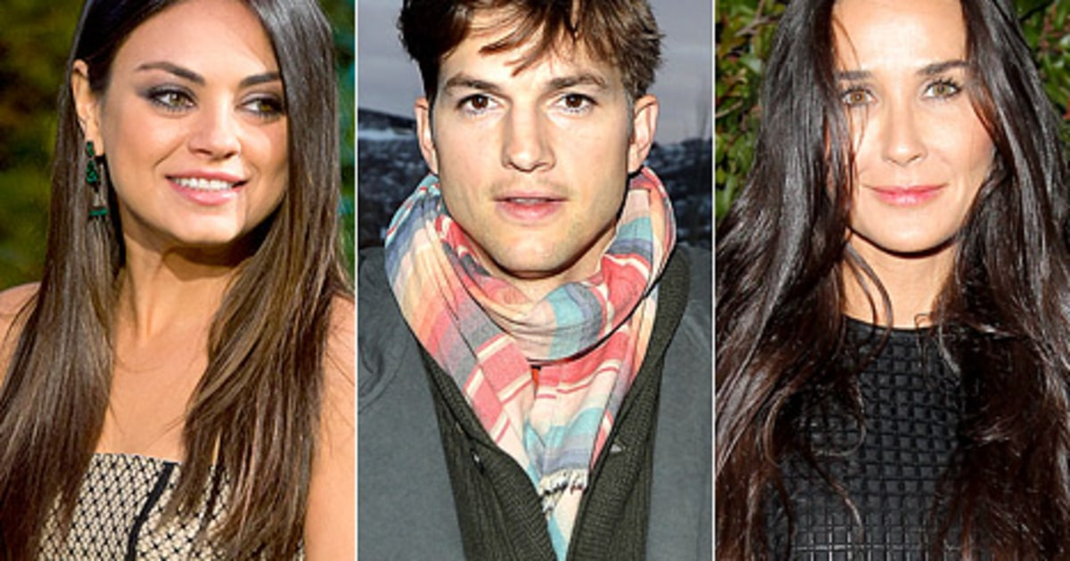 Mila Kunis Ashton Kutcher Demi Moore Article Dont Talk