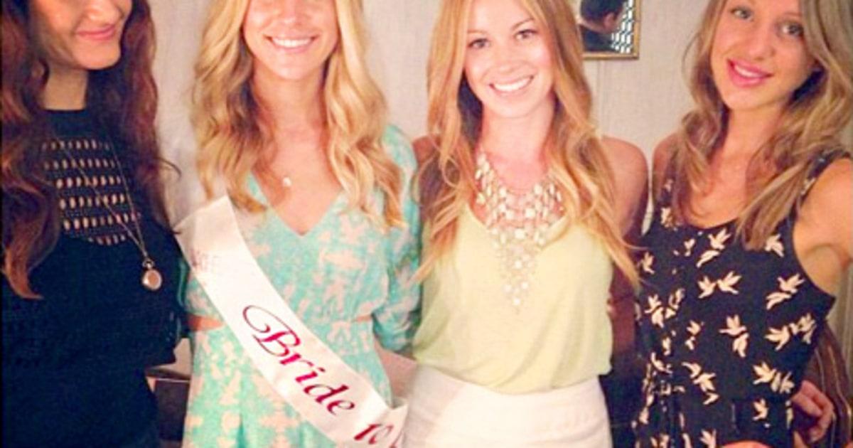 celebrity news kristin cavallari celebrates bridal shower with tiara sash picture