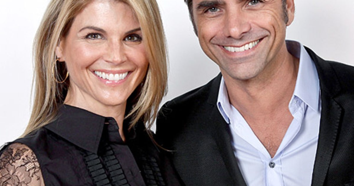 Lori Loughlin then and now