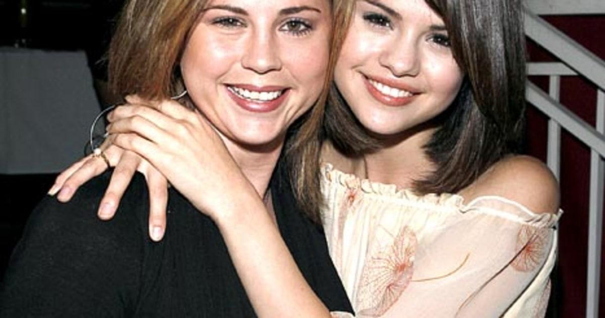 Selena gomez baby sister mom mandy teefey gives birth us weekly