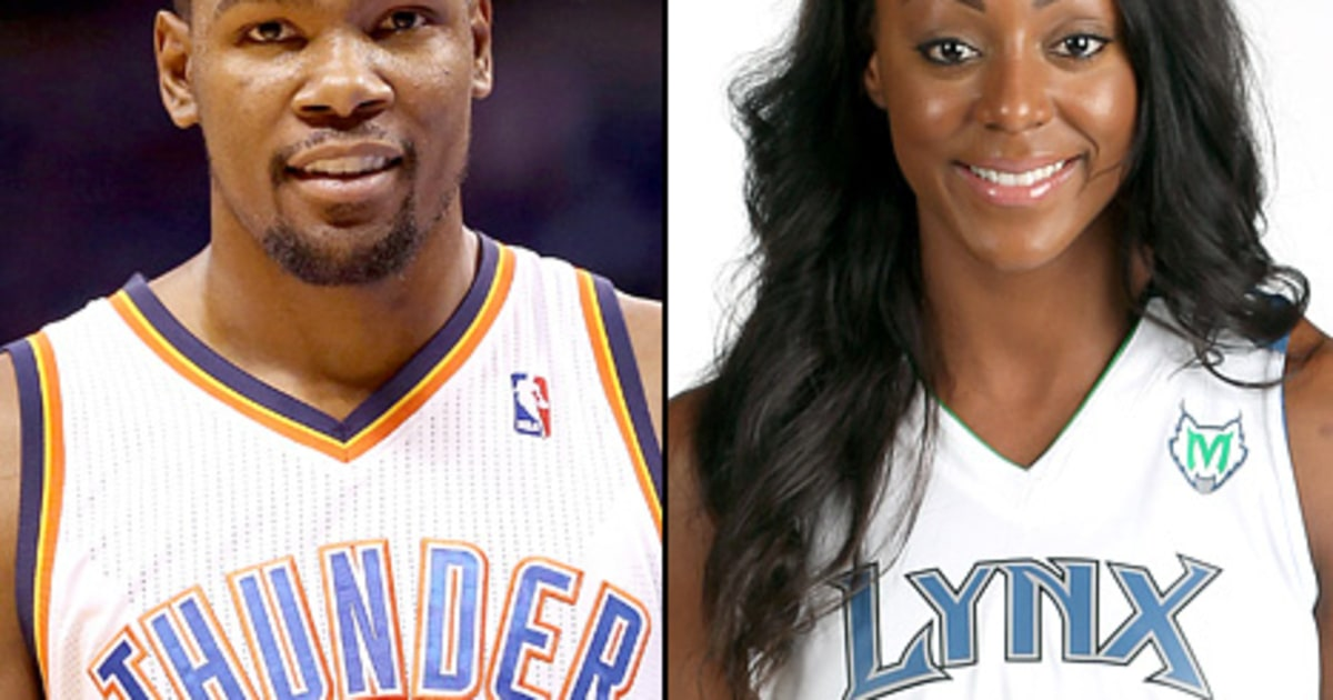 Kevin Durant Proposes: NBA Player Engaged to WNBA Player ...