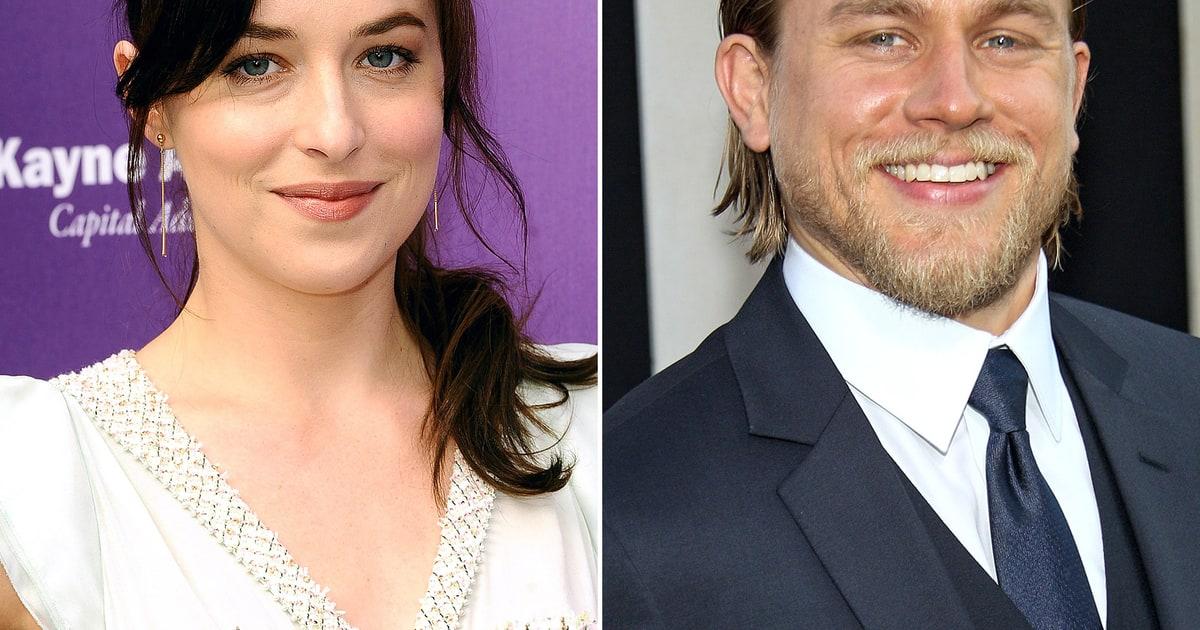 Dakota Johnson, Charlie Hunnam As Anastasia Steele and ...